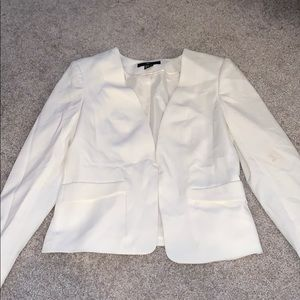 White Womens Blazer